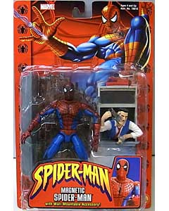 TOYBIZ SPIDER-MAN CLASSICS SERIES 1 MAGNETIC SPIDER-MAN 台紙傷み特価