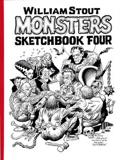 WILLIAM STOUT MONSTERS SKETCH BOOK VOL.4