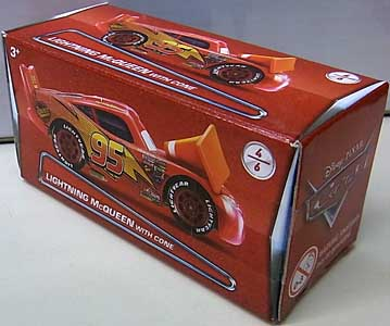 MATTEL CARS 2018 PUZZLE BOX LIGHTNING McQUEEN WITH CONE