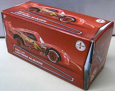 MATTEL CARS 2018 PUZZLE BOX FINISH LINE LIGHTNING McQUEEN