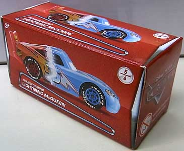 MATTEL CARS 2018 PUZZLE BOX TRANSFORMING LIGHTNING McQUEEN パッケージ破れ特価