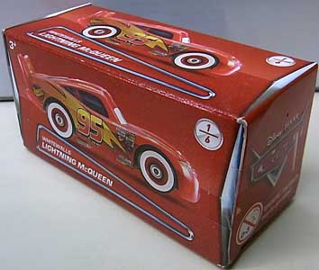 MATTEL CARS 2018 PUZZLE BOX WHITEWALLS LIGHTNING McQUEEN