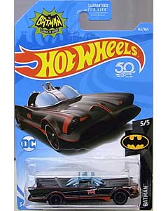 MATTEL HOT WHEELS 1/64スケール 2018 BATMAN CLASSIC TV SERIES BATMOBILE #163