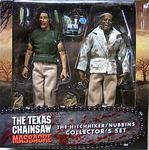 NECA THE TEXAS CHAINSAW MASSACRE 8インチドール HITCHHIKER & NUBBINS COLLECTORS SET