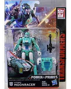 HASBRO TRANSFORMERS GENERATIONS POWER OF THE PRIMES DELUXE CLASS AUTOBOT MOONRACER
