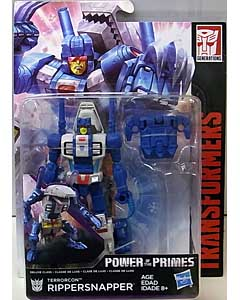 HASBRO TRANSFORMERS GENERATIONS POWER OF THE PRIMES DELUXE CLASS TERRORCON RIPPERSNAPPER