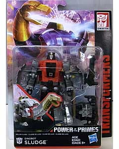 HASBRO TRANSFORMERS GENERATIONS POWER OF THE PRIMES DELUXE CLASS DINOBOT SLUDGE