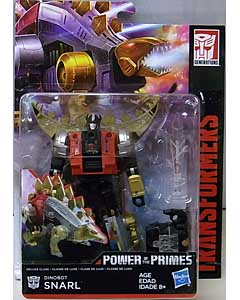 HASBRO TRANSFORMERS GENERATIONS POWER OF THE PRIMES DELUXE CLASS DINOBOT SNARL