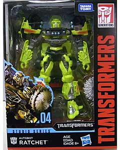 HASBRO TRANSFORMERS STUDIO SERIES DELUXE CLASS AUTOBOT RATCHET #04