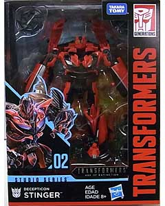 HASBRO TRANSFORMERS STUDIO SERIES DELUXE CLASS DECEPTICON STINGER #02