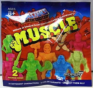SUPER 7 MUSCLE MASTERS OF THE UNIVERSE BLIND PACK 1PACK