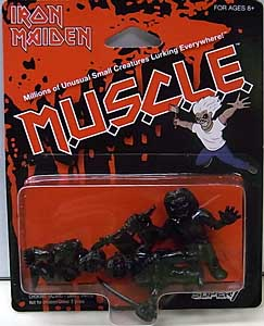 SUPER 7 MUSCLE IRON MAIDEN 3PACK [BLACK]