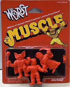 SUPER 7 MUSCLE THE WORST 3PACK [RED , PACK A]