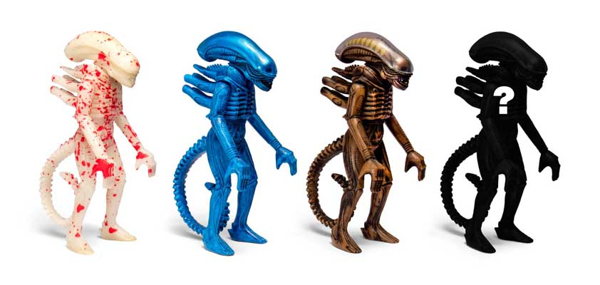 SUPER 7 REACTION FIGURES 3.75インチアクションフィギュア ALIEN BLIND BOX WAVE 2 XENOMORPH