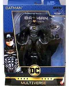 MATTEL DC COMICS MULTIVERSE 6.5インチアクションフィギュア SIGNATURE COLLECTION BATMAN FOREVER BATMAN パッケージ傷み特価