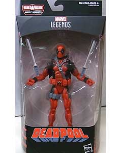 HASBRO MARVEL LEGENDS 2018 DEADPOOL SERIES 1.0 DEADPOOL DEADPOOL [SASQUATCH SERIES] パッケージ傷み特価