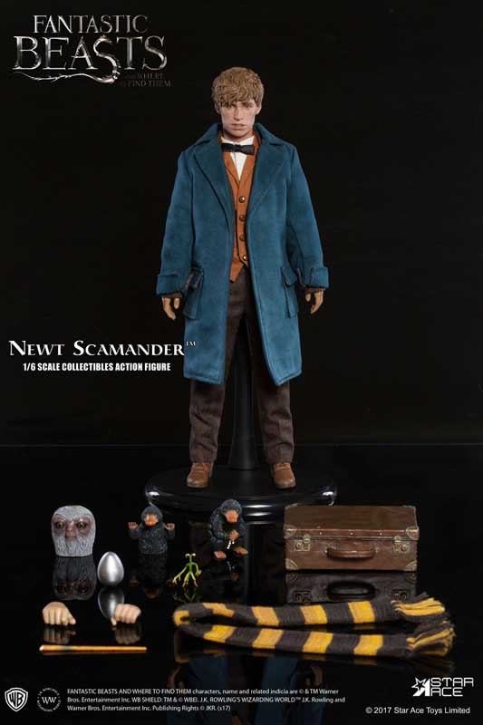 STAR ACE MY FAVORITE MOVIE SERIES 1/6スケールアクションフィギュア FANTASTIC BEASTS AND WHERE TO FIND THEM NEWT SCAMANDER