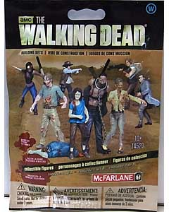 McFARLANE TOYS THE WALKING DEAD TV BUILDING SETS BLIND BAG [WALKER] SERIES 1 1 PACK