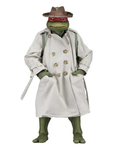 NECA TEENAGE MUTANT NINJA TURTLES [1990 MOVIE] 1/4スケール RAPHAEL IN DISGUISE