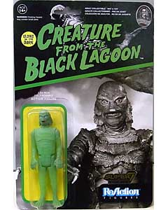 2016年 ニューヨーク・コミコン限定 FUNKO x SUPER 7 REACTION FIGURES 3.75インチアクションフィギュア CREATURE FROM THE BLACK LAGOON CREATURE [GLOW IN THE DARK]