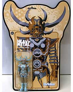 SUPER 7 REACTION FIGURES 3.75インチアクションフィギュア HEAVY METAL LORD OF LIGHT [METALLIC VARIANT]