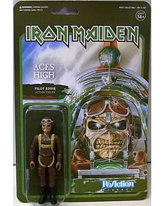 SUPER 7 REACTION FIGURES 3.75インチアクションフィギュア IRON MAIDEN EDDIE [ACES HIGH]