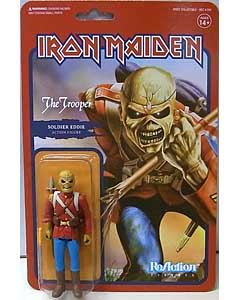 SUPER 7 REACTION FIGURES 3.75インチアクションフィギュア IRON MAIDEN EDDIE [THE TROOPER]