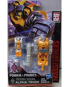 HASBRO TRANSFORMERS GENERATIONS POWER OF THE PRIMES PRIME MASTER ALPHA TRION 台紙傷み特価