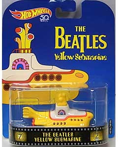 MATTEL HOT WHEELS 1/64スケール 2018 RETRO ENTERTAINMENT THE BEATLES YELLOW SUBMARINE