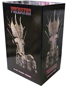 NECA PREDATOR DIORAMA ELEMENT PREDATOR THRONE パッケージ傷み特価