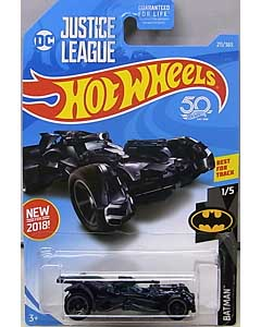 MATTEL HOT WHEELS 1/64スケール 2018 BATMAN JUSTICE LEAGUE BATMOBILE #211
