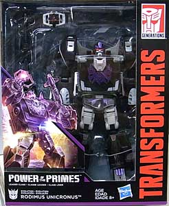 HASBRO TRANSFORMERS GENERATIONS POWER OF THE PRIMES LEADER CLASS RODIMUS UNICRONUS