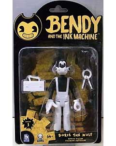 PHATMOJO BENDY AND THE INK MACHINE 5インチアクションフィギュア シリーズ1 BORIS THE WOLF