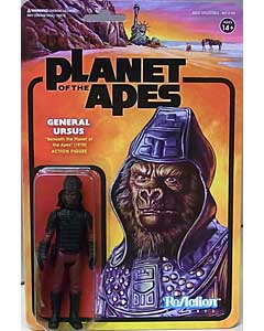 SUPER 7 REACTION FIGURES 3.75インチアクションフィギュア PLANET OF THE APES GENERAL URSUS