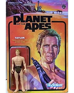 SUPER 7 REACTION FIGURES 3.75インチアクションフィギュア PLANET OF THE APES TAYLOR