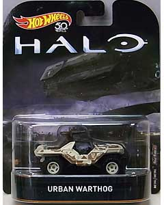 MATTEL HOT WHEELS 1/64スケール 2018 RETRO ENTERTAINMENT HALO URBAN WARTHOG