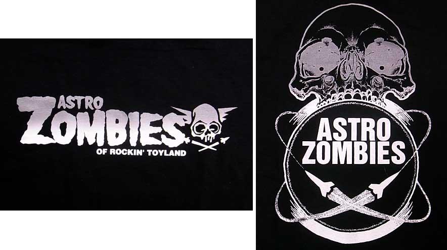 ASTRO ZOMBIES / ロゴTシャツ (シルバーグラデーション)