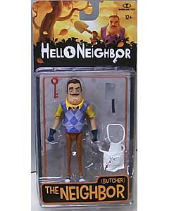 McFARLANE TOYS HELLO NEIGHBOR 5インチアクションフィギュア THE NEIGHBOR [BUTCHER]