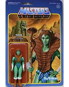SUPER 7 REACTION FIGURES 3.75インチアクションフィギュア POWER-CON EXCLUSIVE MASTERS OF THE UNIVERSE TEELA