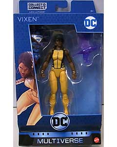 MATTEL DC COMICS MULTIVERSE 6インチアクションフィギュア DC REBIRTH VIXEN [LEX LUTHOR SERIES]