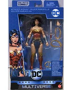 MATTEL DC COMICS MULTIVERSE 6インチアクションフィギュア DC REBIRTH WONDER WOMAN [LEX LUTHOR SERIES]
