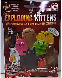 BASIC FUN EXPLODING KITTENS BUILDABLE MINI FIGURE 1PACK