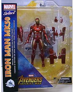 DIAMOND SELECT MARVEL SELECT USAディズニーストア限定 映画版 AVENGERS: INFINITY WAR IRON MAN MK50 ワケアリ特価