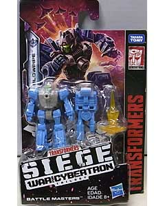 HASBRO TRANSFORMERS SIEGE BATTLE MASTERS BLOWPIPE