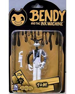 PHATMOJO BENDY AND THE INK MACHINE 5インチアクションフィギュア シリーズ2 TOM