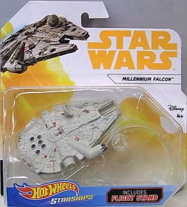 MATTEL HOT WHEELS STAR WARS DIE-CAST VEHICLE 2018 MILLENNIUM FALCON