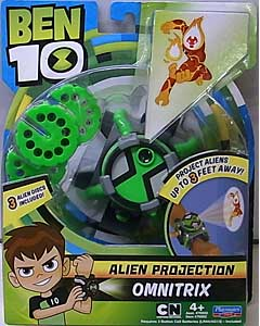 PLAYMATES BEN 10 ALIEN PROJECTION OMNITRIX