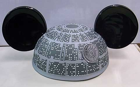 STAR WARS USAディズニーテーマパーク限定 DEATH STAR MICKEY EARS HAT
