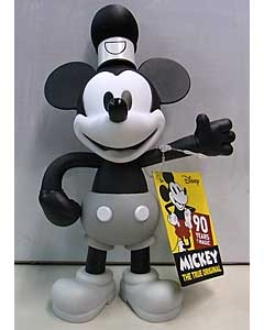 JUST PLAY DISNEY MICKEY MOUSE 90TH ANNIVERSARY POSEABLE FIGURES STEAMBOAT WILLIE