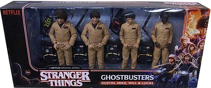 McFARLANE STRANGER THINGS 7インチアクションフィギュア GHOSTBUSTERS DELUXE BOX 4PACK